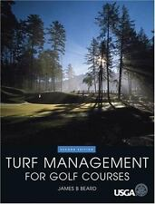 Turf Management for Golf Courses, 2nd Edition, James B Beard, Good Book