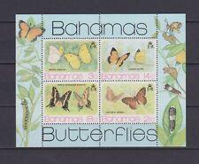 s16768) BAHAMAS  MNH** Nuovi** 1975 Butterflies s/s
