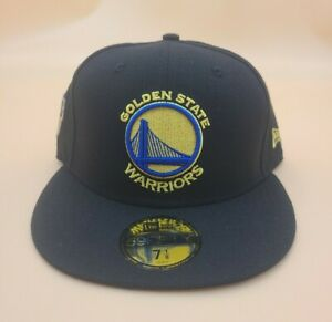 Golden State Warriors 2018 NBA Finals Champions 59Fifty Side Patch Fitted Hat