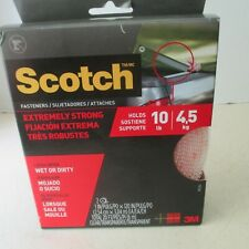 New listing 3M Scotch Extreme Fastener 20 feet total 1 inch holds 10 pounds Nip