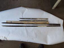 55 1955 CHEVY CHEVROLET BEL AIR NEW 2 FRONT  FENDER & 2 DOOR MOLDING, SET OF 4