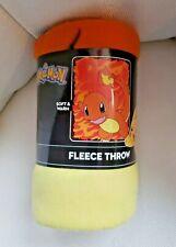 "New Pokemon Charmander Throw Blanket Gift 40"" x 50"""