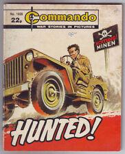 Commando 1st Edition Paperback Comic Books