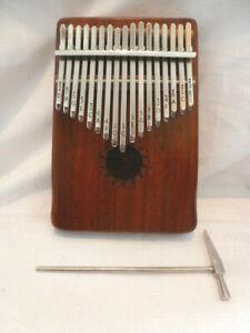Kalimba Musikinstrument akustisch Afrika Folklore Finger Piano Donner DKL-17