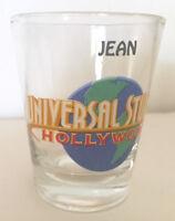 "Shot Glass Universal Studios ""JEAN"""