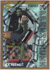 1996-97 FINEST ROOKIE CARD REFRACTOR: JERMAINE O'NEAL #31 BLAZERS RC 6x ALL-STAR