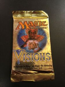 Visions Booster Pack MTG Magic The Gathering