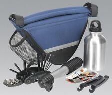 Sealey BC211 Repair Kit With Frame Bag Bicycle Tool Bike Cycling Maintenance