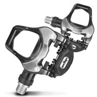 Wellgo Road Bike Pedals and Cleats Compatible with Look Keo