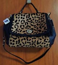 Coach Park Haircalf Leopard Flap Satchel - F24986 - B4/Natural Multi - NWT!!!