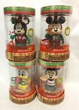 "Disney Vinylmation 3"" Jingle Smells #2 Christmas Mickey Minnie Donald Goofy *NEW"