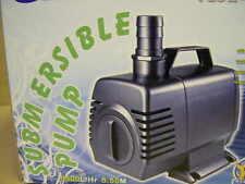 Filterspeisepumpe 6000 L/h Bachlauf- u Wasserfallpumpe Filterpumpe f Teichfilter