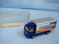 Diecast Model Layland Truck Blue Johnny WorldwideTransport Lorry Diorama Toy