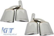 Mercedes AMG Exhaust Muffler Tips Pipe W219 R230 R171 W164 W221 W463 W204