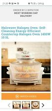 Halowave Oven 10.5L white fat free cooking