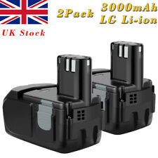 2X3000mAh 14.4V Li-ion Battery For Hitachi BCL1415 BCL1430 EBL1430 327728 327729