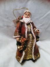 "New - 2005 Roman Inc. - Christmas Wishes - Santa Collection - ""Good Will To All"""