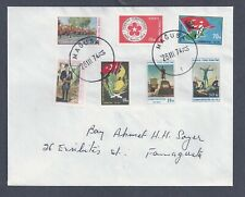 TURKISH CYPRUS 1-7 on cover 1974