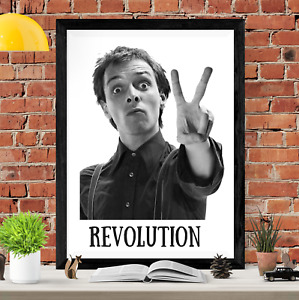 Rik Mayall The Young Ones Revolution Art Picture Poster Print