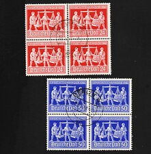 1948 Germany Allied Hanover Fair Blocks Set Sc#584-5 Used