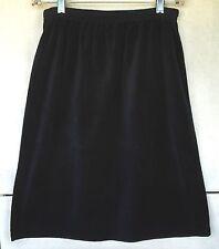 Fashion Formulas Skirt Womens New Black A-Line Soft Velveteen Fabric Sz Small