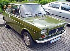 FIAT 127 MODELS  - FULL COPPER BRAKE PIPE SET
