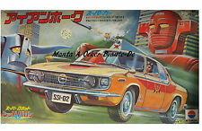Opel Manta A Ocker 1,6S Poster 1973 Red Baron Iron Hawk Comic Art  für Fans