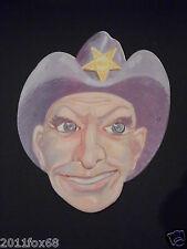 maschere di carnevale anni 60 sheriff karnevalsmasken carnival masks 60 years gq