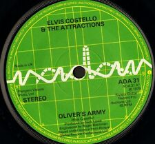 "ELVIS COSTELLO oliver's army/my funny valentine ADA 31 uk radar 1979 7"" WS EX/"
