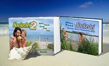 """2 FKK-Bücher - Buchpaket - """"Bühne Frei: Nackedei"""" und """"Nackedei 2"""""""