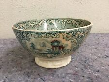 Antique Transferware Bowl By Petrus Ragout & Co Of Maastricht-Abbey Pattern