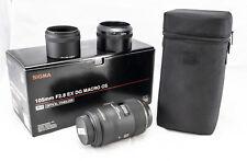 Sigma EX 105mm F/2.8 OS HSM DG Lens Nikon Fit