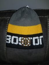 New Reebok NHL Hockey Boston Bruins  Winter Stocking Knit Hat Cap Beanie