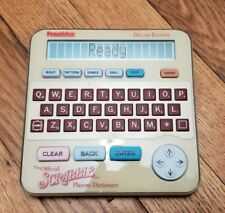 WORKING! Franklin The Official Scrabble Players Dictionary SCR228 Deluxe Edition