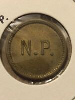 Vintage Token, N.P. Good For 5 Cents Token Coin T17