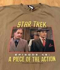 Star Trek Episode 49 A Piece Of The Action Mr. Spock T-Shirt Size Men's XL