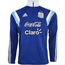 NWT adidas AFA Argentina Training SweatShirt MEDIUM with/without Sponsors F89022
