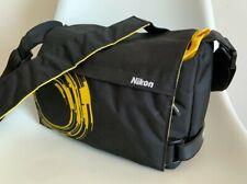Nikon Golla Black and Yellow Camera Shoulder Bag, New