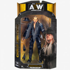 """AEW Wrestling Unrivaled Series 1 : CHRIS JERICHO  6"""" Figure NEW IN STOCK"""