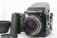 [ Exc+++++ ] Mamiya M645 Super AE Finder w/ Sekor C 80mm F2.8 Lens from Japan