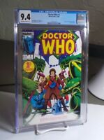 Doctor Who #1 CGC 9.4 NM Marvel Comics 1984 Tom Baker 4th Doctor BBC Simonson