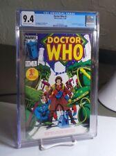 Doctor Who #1 CGC 9.4 NM Marvel Comics 1984 Tom Baker 4th Doctor BBC Simonson