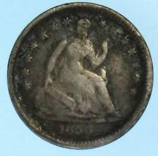 1856 Seated Liberty Half Dime 90% Silver US Coin Lot E128