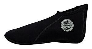 Akona 2mm Low Cut Sock Scuba Diving Snorkeling Boot New Logo