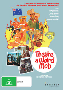 They'Re A Weird Mob (DVD) Michael Powell, Walter Chiari NEW/SEALED