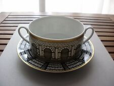 FORNASETTI ROSENTHAL ARCHITETTURA PALLADIANA LARGE CUP SOUP BOWL & PLATE NEW