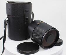 Toyo Optics 500mm F8 Y Mount Camera Mirror Lens