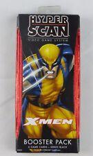 Hyper Scan X-Men booster pack 6 game cards series black set of 2