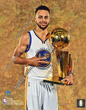 STEPHEN CURRY 2017 GOLDEN STATE WARRIORS NBA CHAMPIONS 8X10 PHOTO