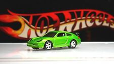 Hot Wheels / Porsche 911 GT3 RS / Green / Real Riders / 2003 / RARE